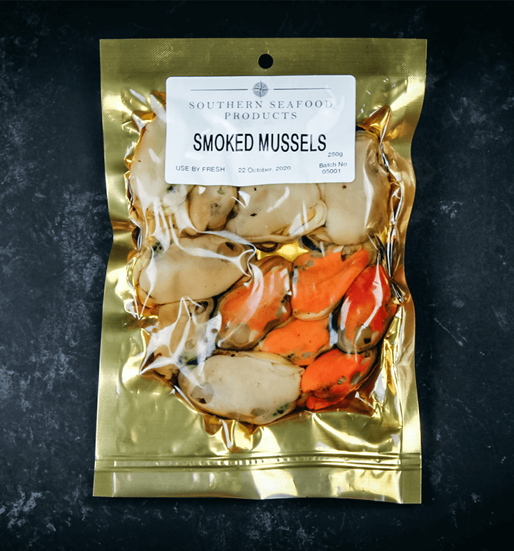 Smoked mussels - plain