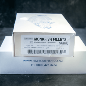 Monkfish Fillets Frozen in a box